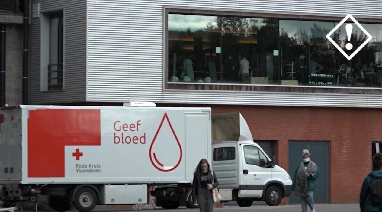 Bloedinzamelactie Rode Kruis VUB