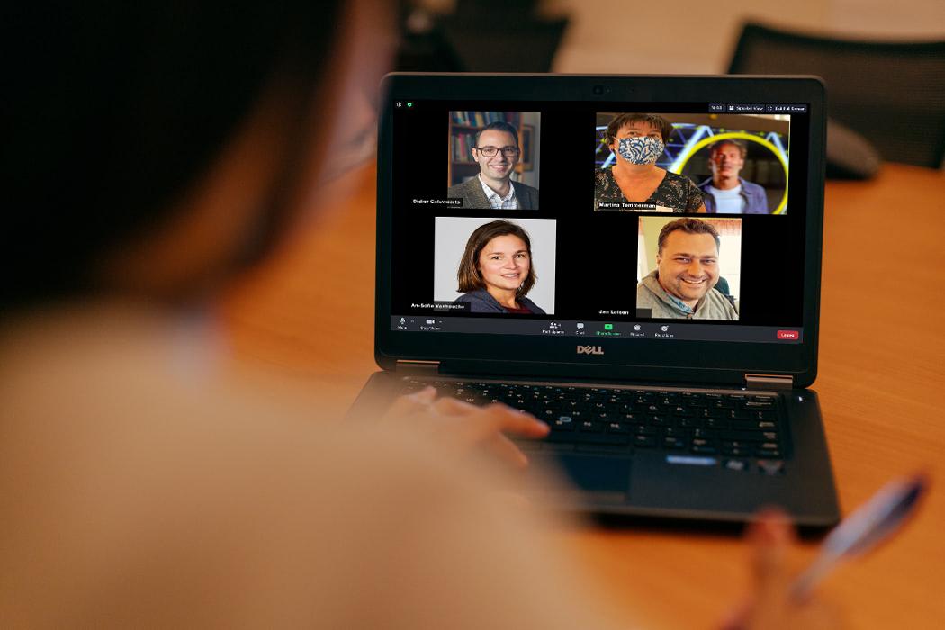 Vier VUB-proffen over online lesgeven