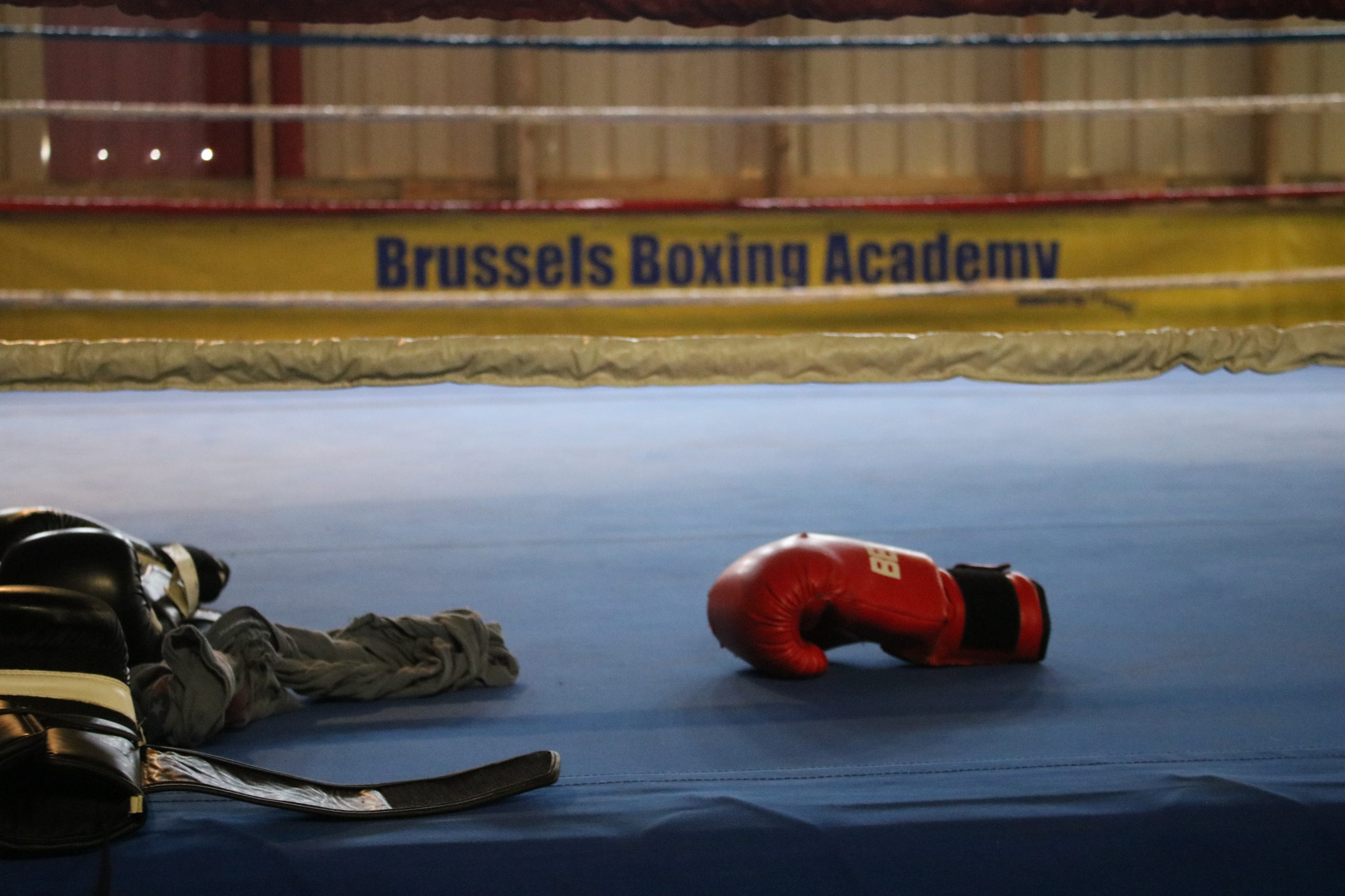 Tom Flachet van de Brussels Boxing Academy © Hermelien Goyvaerts